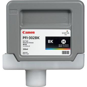 Canon PFI-302BK Black Ink Tank