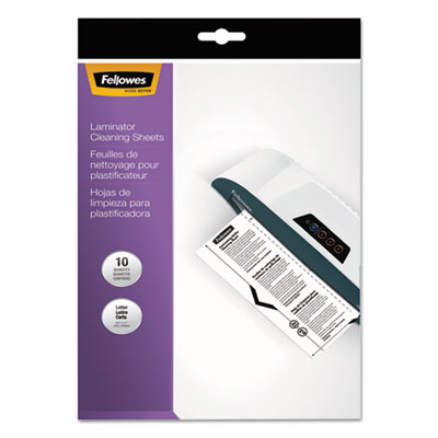 Fellowes 5320603 Laminator Cleaning Sheets