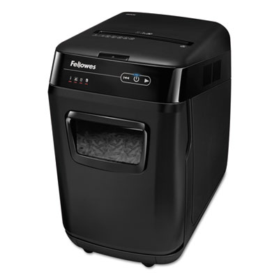 Fellowes 4653501 AutoMax 200C Auto Feed Cross-Cut Shredder