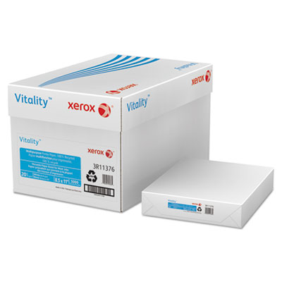 Xerox 3R11376 Vitality 100% Recycled Multipurpose Printer Paper