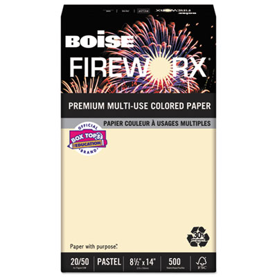 Boise MP2204IY FIREWORX Premium Multi-Use Colored Paper