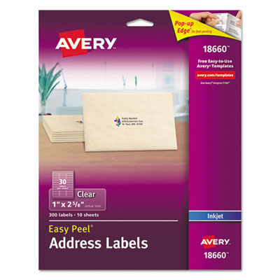 Avery 18660 Labels