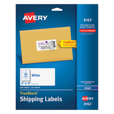 Avery 8163 Labels