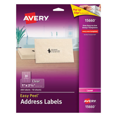 Avery 15660 Address Labels