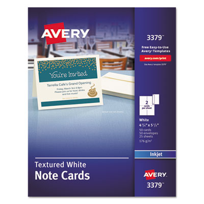 Avery 3379 Note Cards with Matching Envelopes