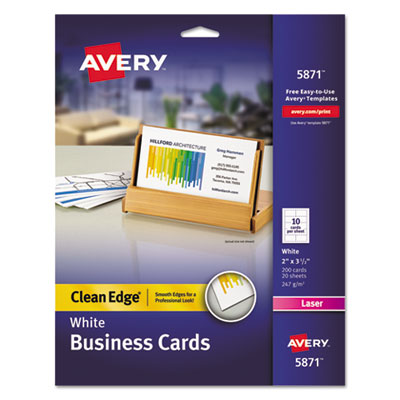Avery 5871 Business Cards