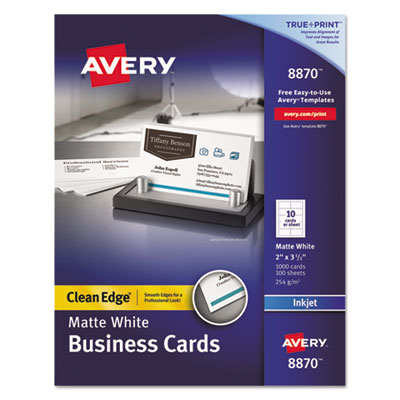 Avery 8870 Premium Clean Edge Business Cards