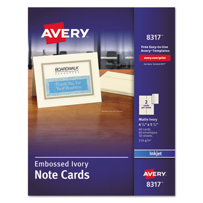 Avery 8317 Note Cards with Matching Envelopes