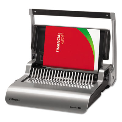 Fellowes 5227201 Quasar 500 Comb Binding Systems