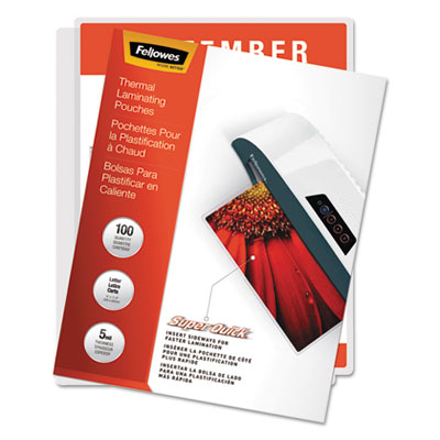 Fellowes 5223001 Laminating Pouches