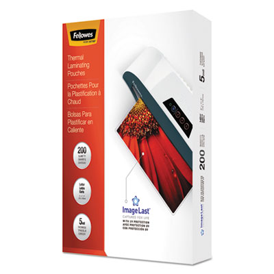 Fellowes 5245301 ImageLast Laminating Pouches with UV Protection