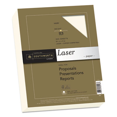 Southworth 368C 25% Cotton Laser Paper