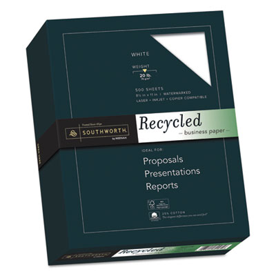 Southworth 603C 25% Cotton Recycled Business Paper
