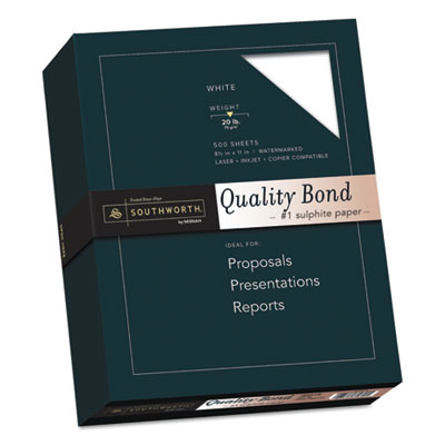 Southworth 3162010 Quality Bond Business Paper