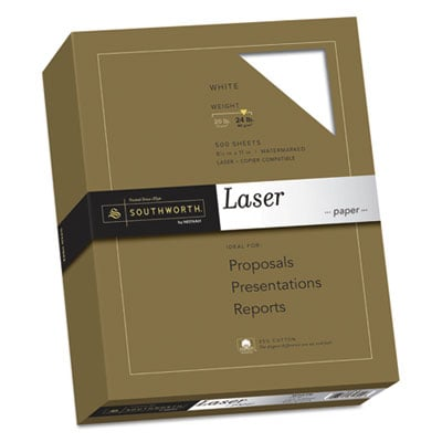 Southworth 3172410 25% Cotton Laser Paper