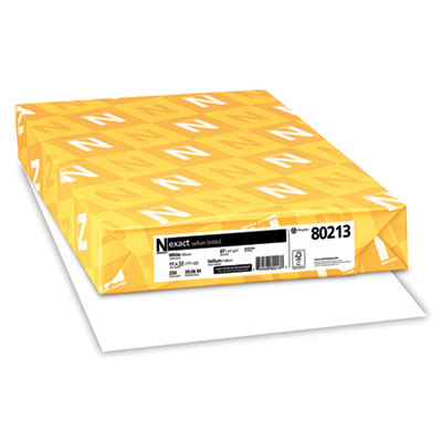 Neenah 80213 Exact Vellum Bristol Medium Heavyweight Paper