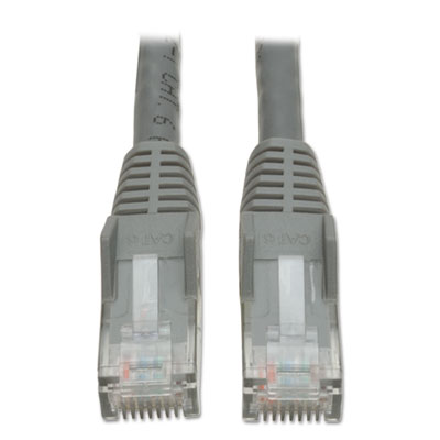 Tripp Lite N201010GY CAT6 Snagless Molded Patch Cable