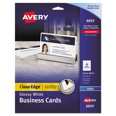 Avery 8859 Premium Clean Edge Business Cards