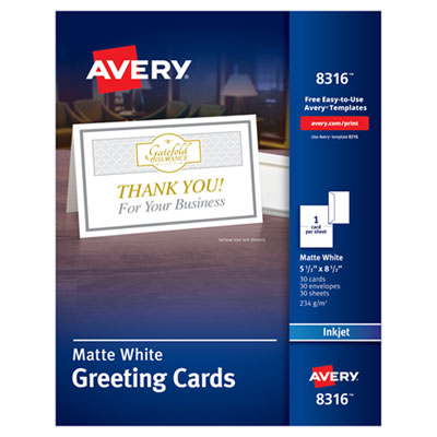 avery card stock