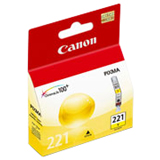 Canon CLI-221Y Yellow Ink Tank (2949B001)