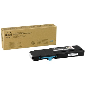 Dell 2PRFP Cyan Toner Cartridge