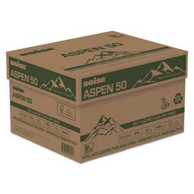 Boise 055014 ASPEN 50 Multi-Use Recycled Paper