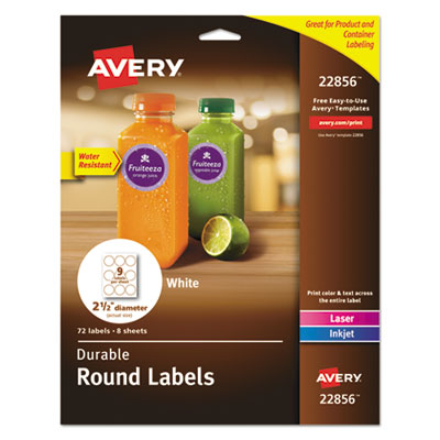 Avery 22856 Round Labels