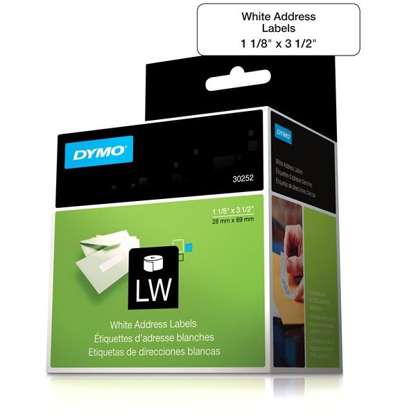Dymo 30252 White Address Labels