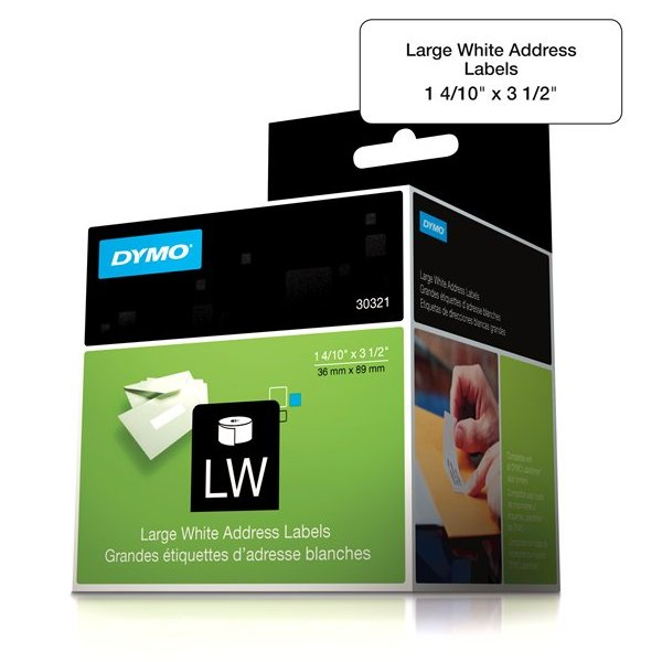 Dymo 30321 Large Address Labels