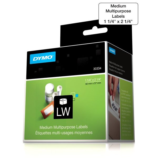 Dymo 30334 Multipurpose Labels