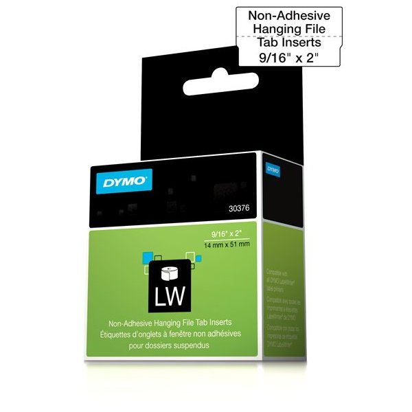 Dymo 30376 Hanging File Tab Inserts