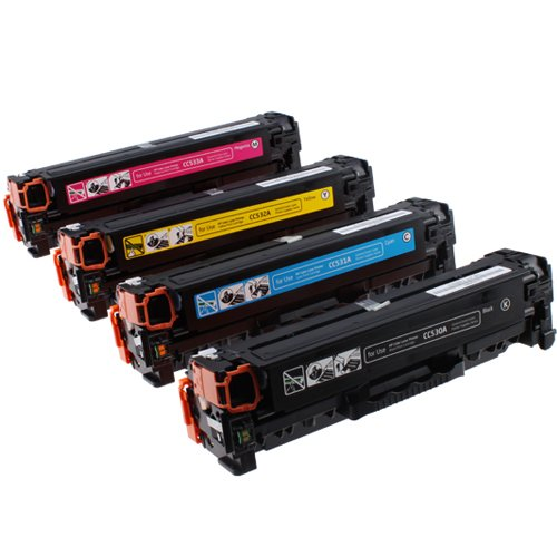 Compatible HP 304A Toner Cartridge Bundle