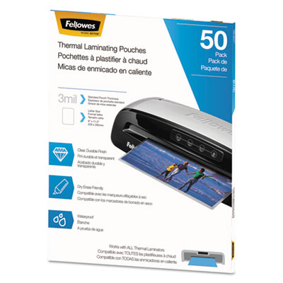 Fellowes 5744301 Thermal Laminating Pouches
