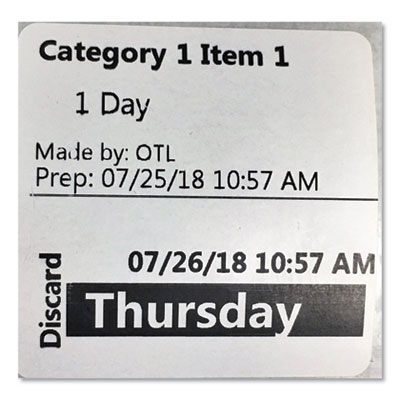 Seiko SLPFPL Food Prep Label