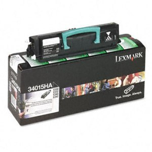 Lexmark 34015HA Black Toner Cartridge