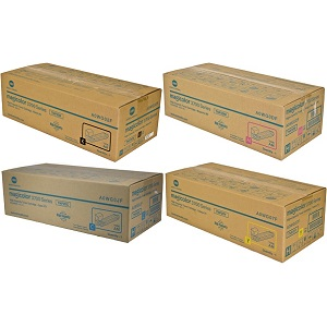Konica Minolta 3730 Toner Cartridge Set