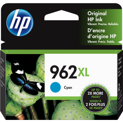 HP 3JA00AN Cyan Ink Cartridge