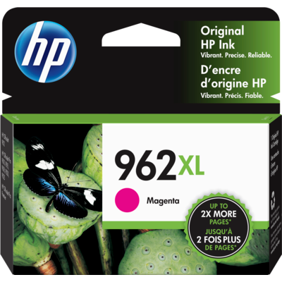 HP 3JA01AN Magenta Ink Cartridge