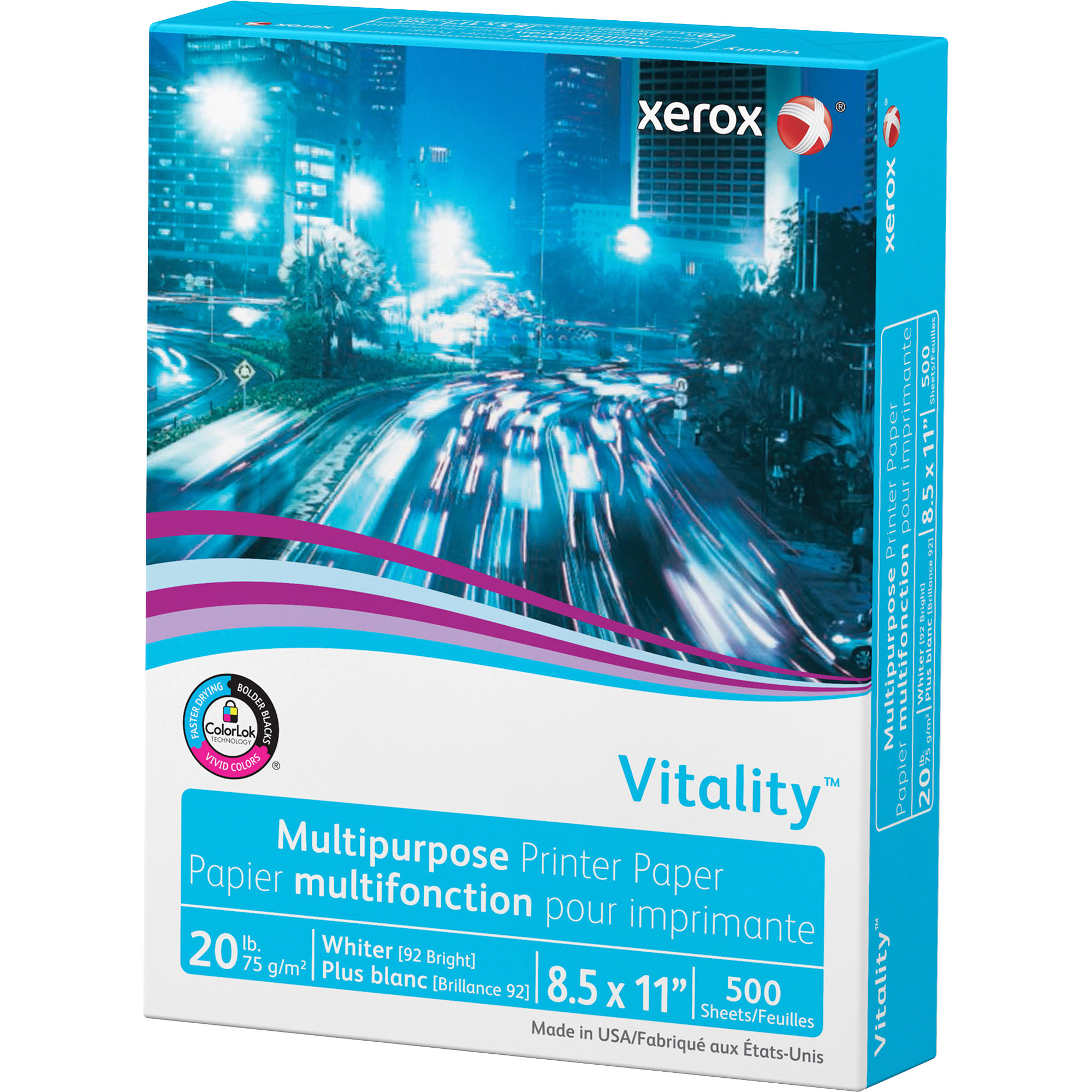 Xerox 3R02047RM Vitality Multipurpose Printer Paper