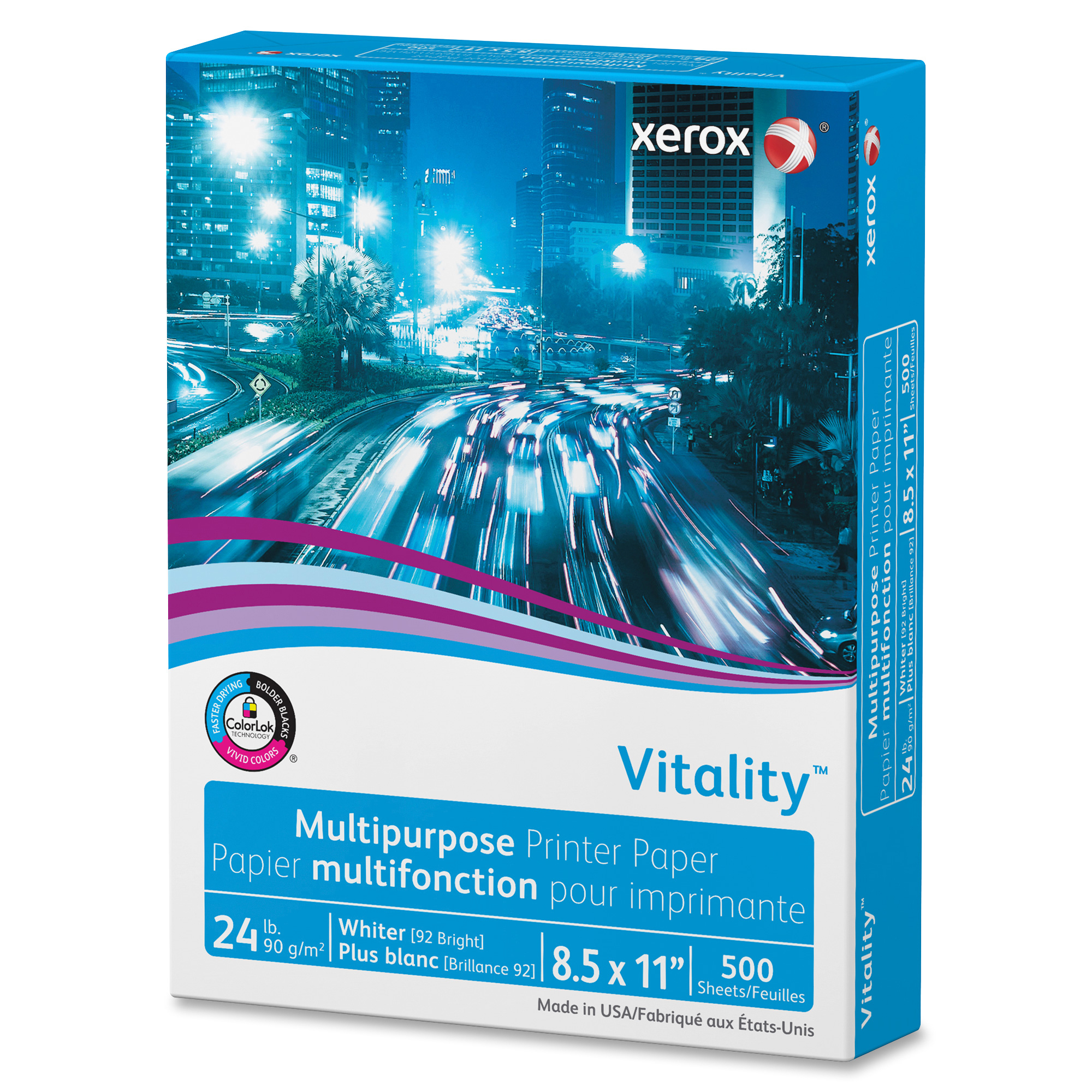 Xerox 3R02531 Vitality Multipurpose Printer Paper