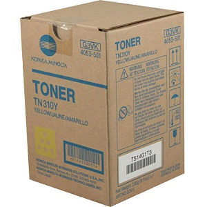 Konica Minolta TN310Y Yellow Toner Cartridge