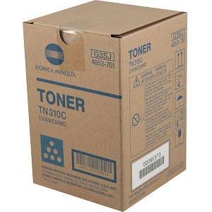 Konica Minolta TN310C Cyan Toner Cartridge