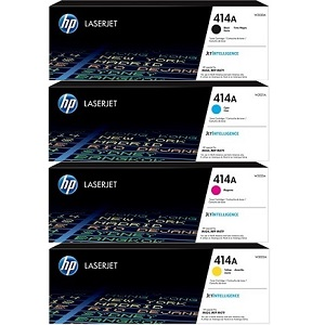 HP 414A Toner Cartridge Set