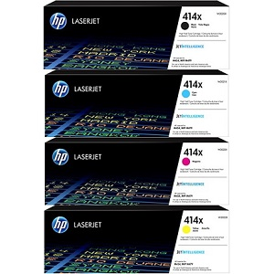 HP 414X Toner Cartridge Set