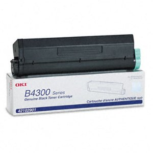 Okidata 42102901 Black Toner Cartridge