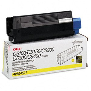 Okidata 42804501 Yellow Toner Cartridge