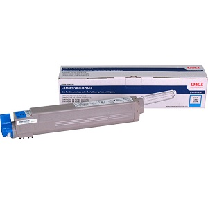 Okidata 42918983 Cyan Toner Cartridge