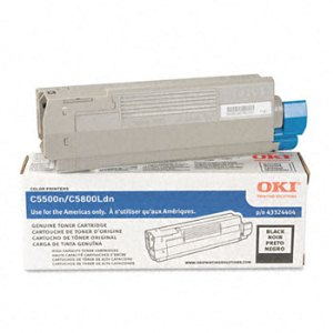 Okidata 43324404 Black Toner Cartridge