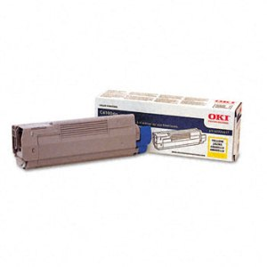 Okidata 43324417 Yellow Toner Cartridge