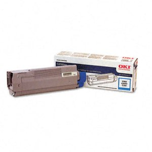 Okidata 43324419 Cyan Toner Cartridge